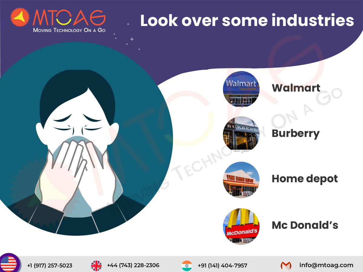Look over some industries