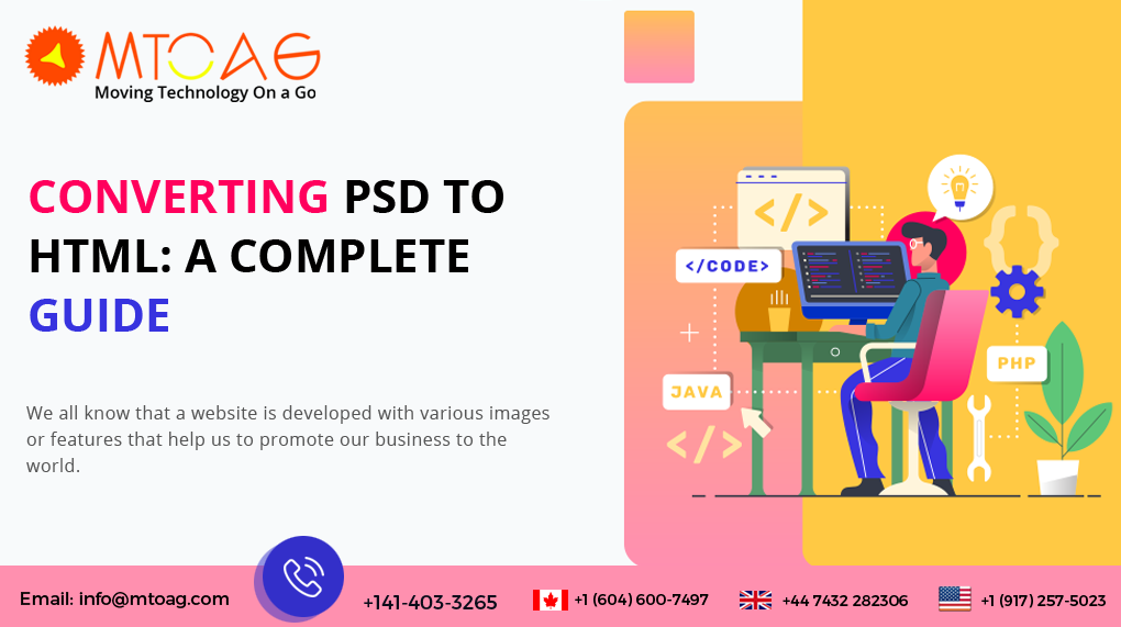 CONVERTING PSD TO HTML: A COMPLETE GUIDE