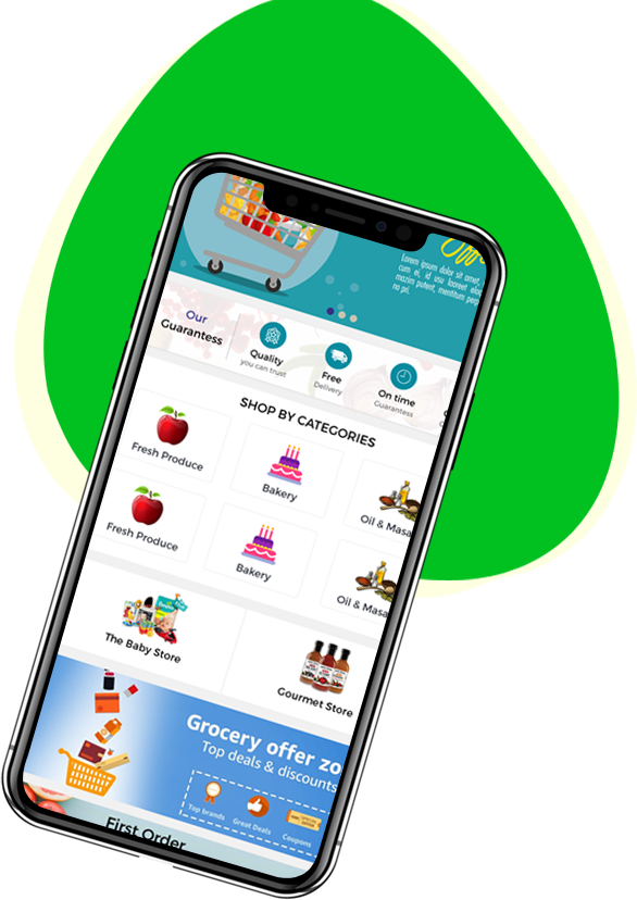 grocery app development company | grocery delivery app