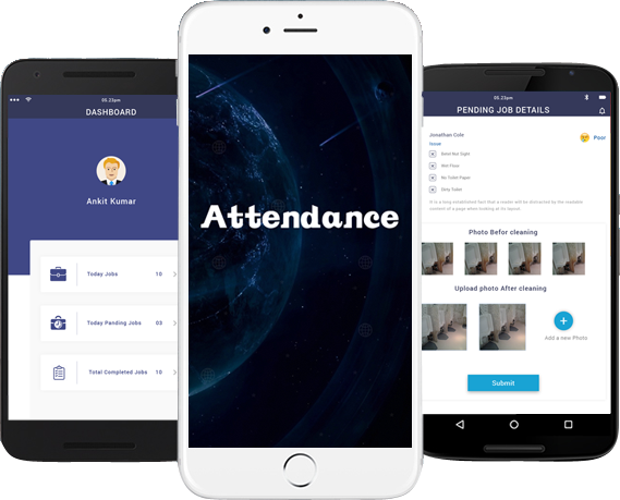 time and attendance app development
