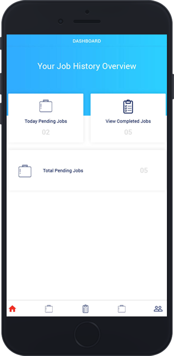 courier delivery app development